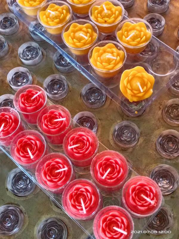 莲花蜡烛机模具